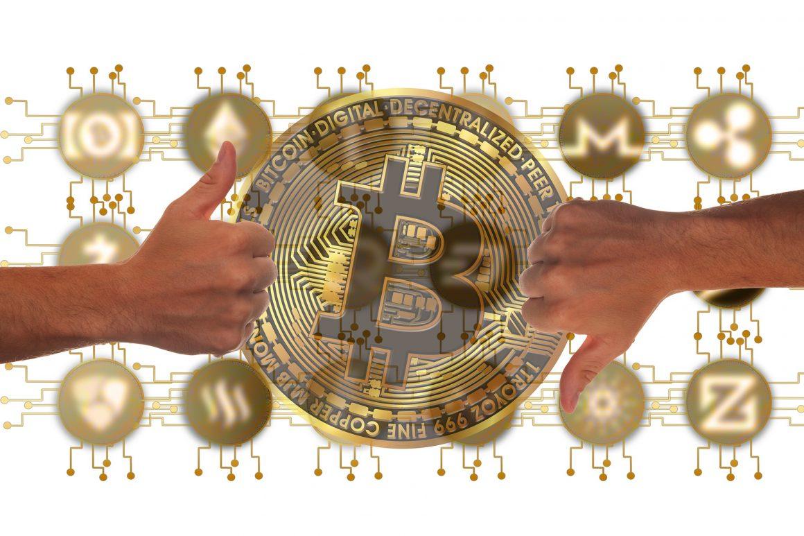 bitcoin trading hands